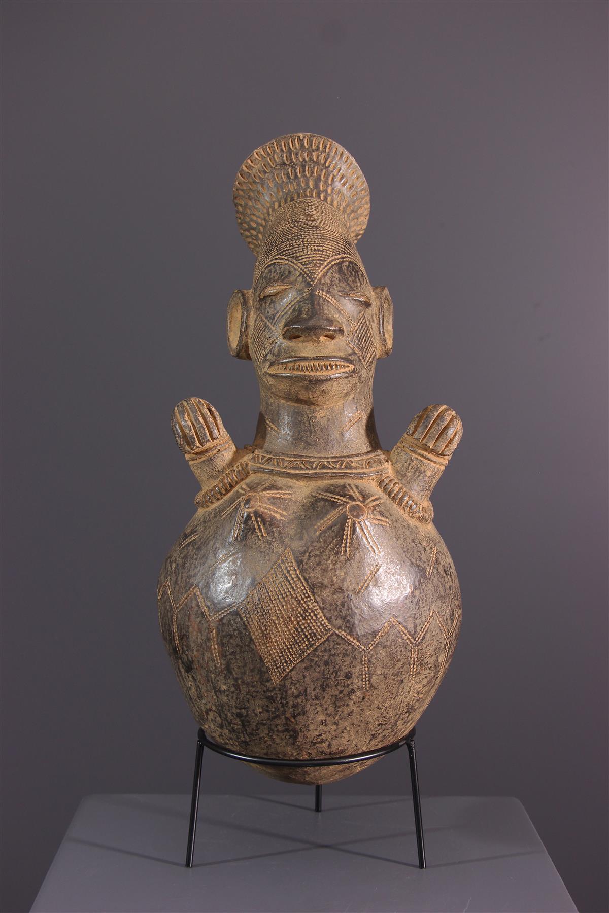 Jarre Mangbetu - Afrikaanse kunst