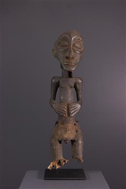 Afrikaanse kunst - Voorouderfiguur Hemba/ Luba Singiti