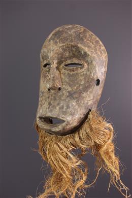 Afrikaanse kunst - Groot lega Idumu masker