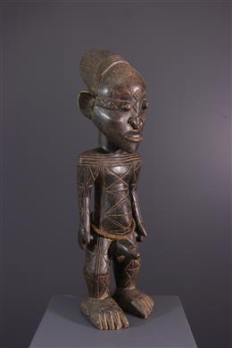 Voorvaderfiguur Mangbetu Nebeli