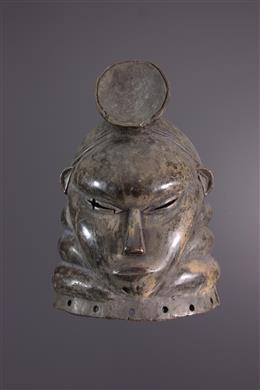 Afrikaanse kunst - Mende Sowei masker