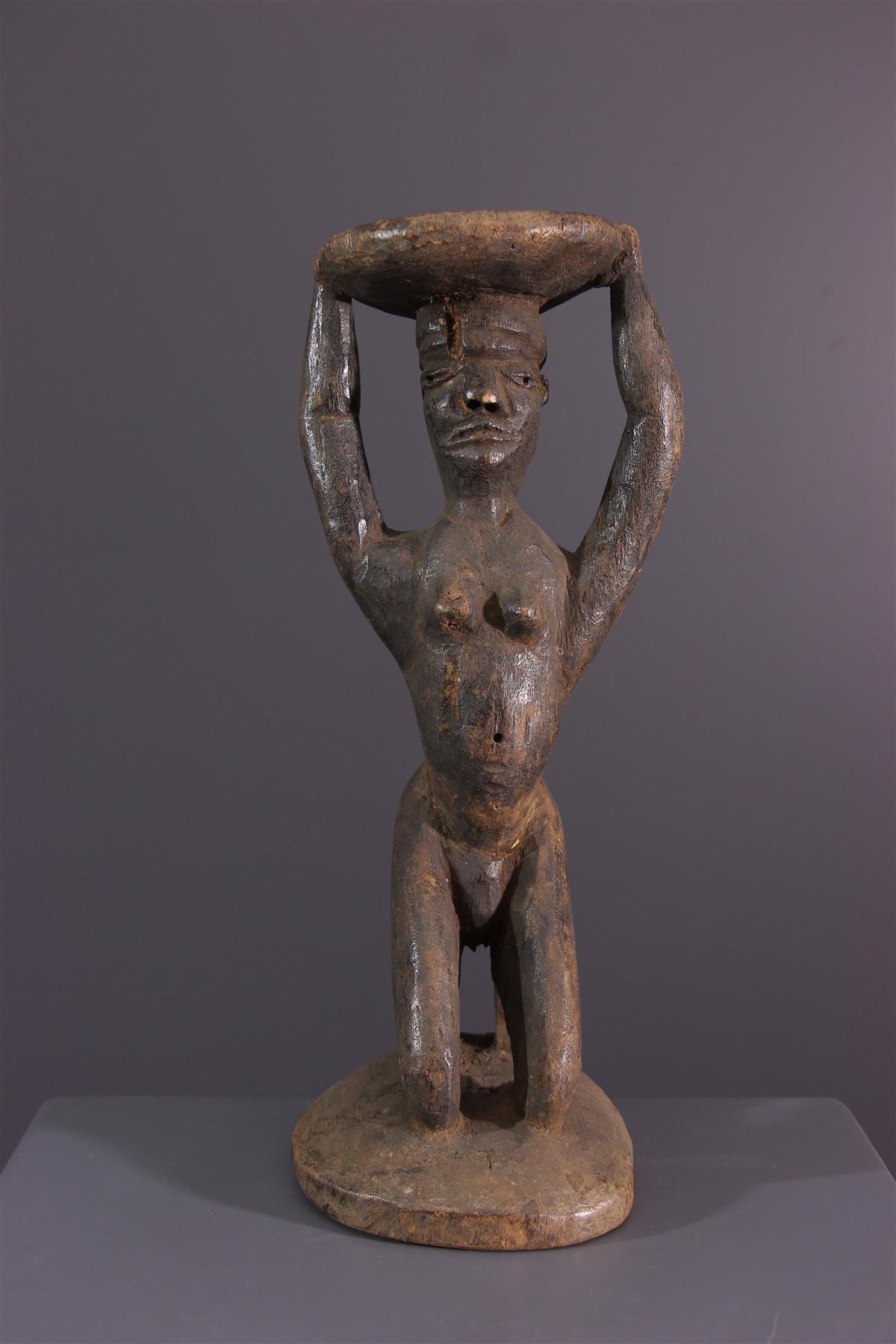 Pende Kruk - Afrikaanse kunst