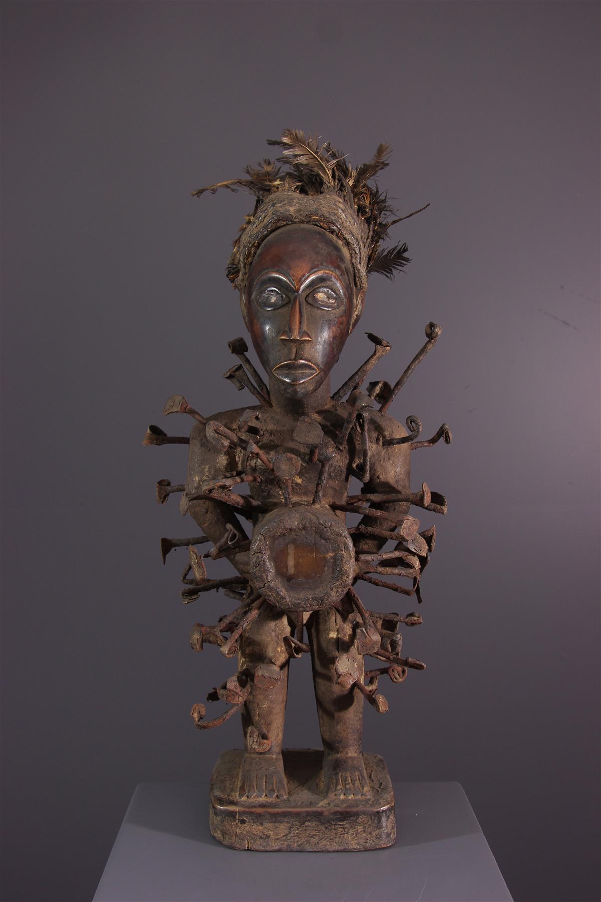 Fetish Nkondi - Afrikaanse kunst