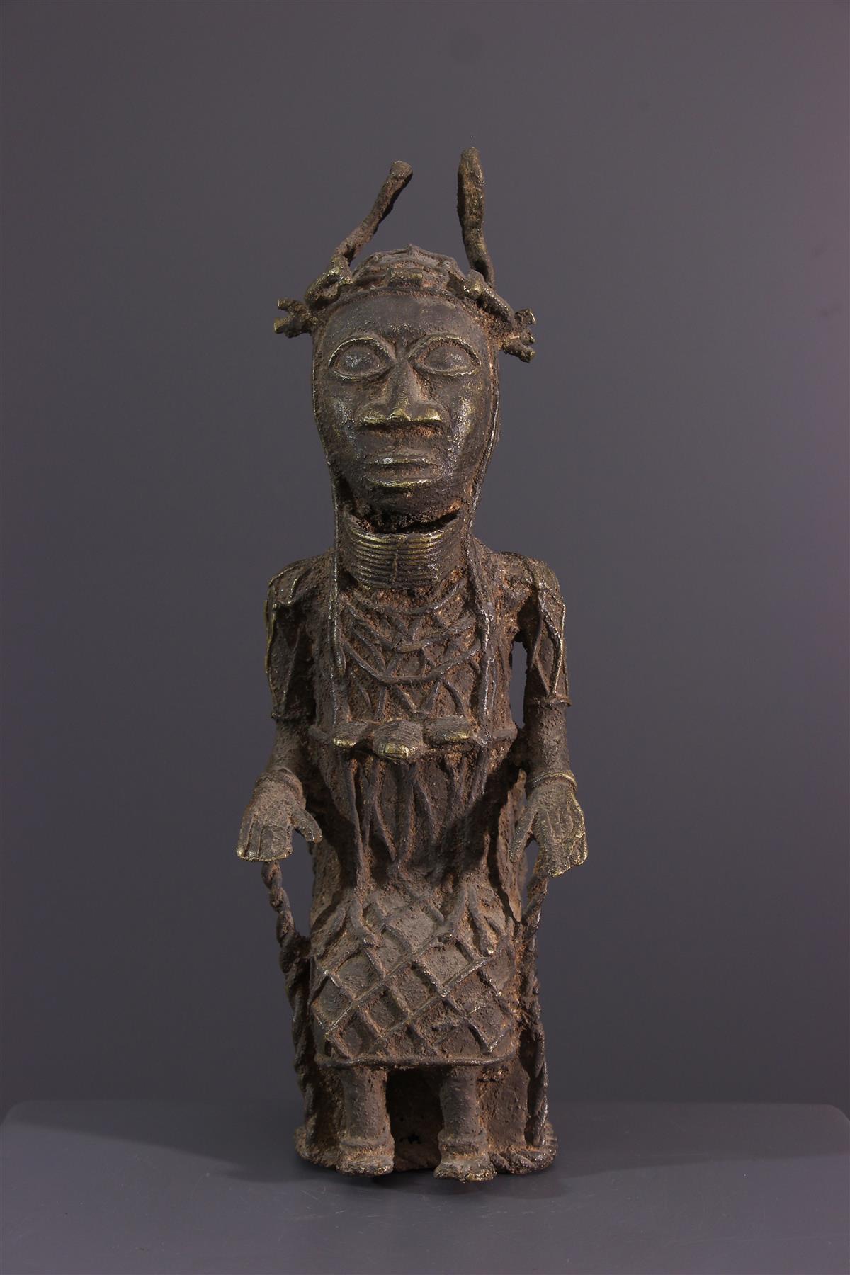 Brons Benin - Afrikaanse kunst