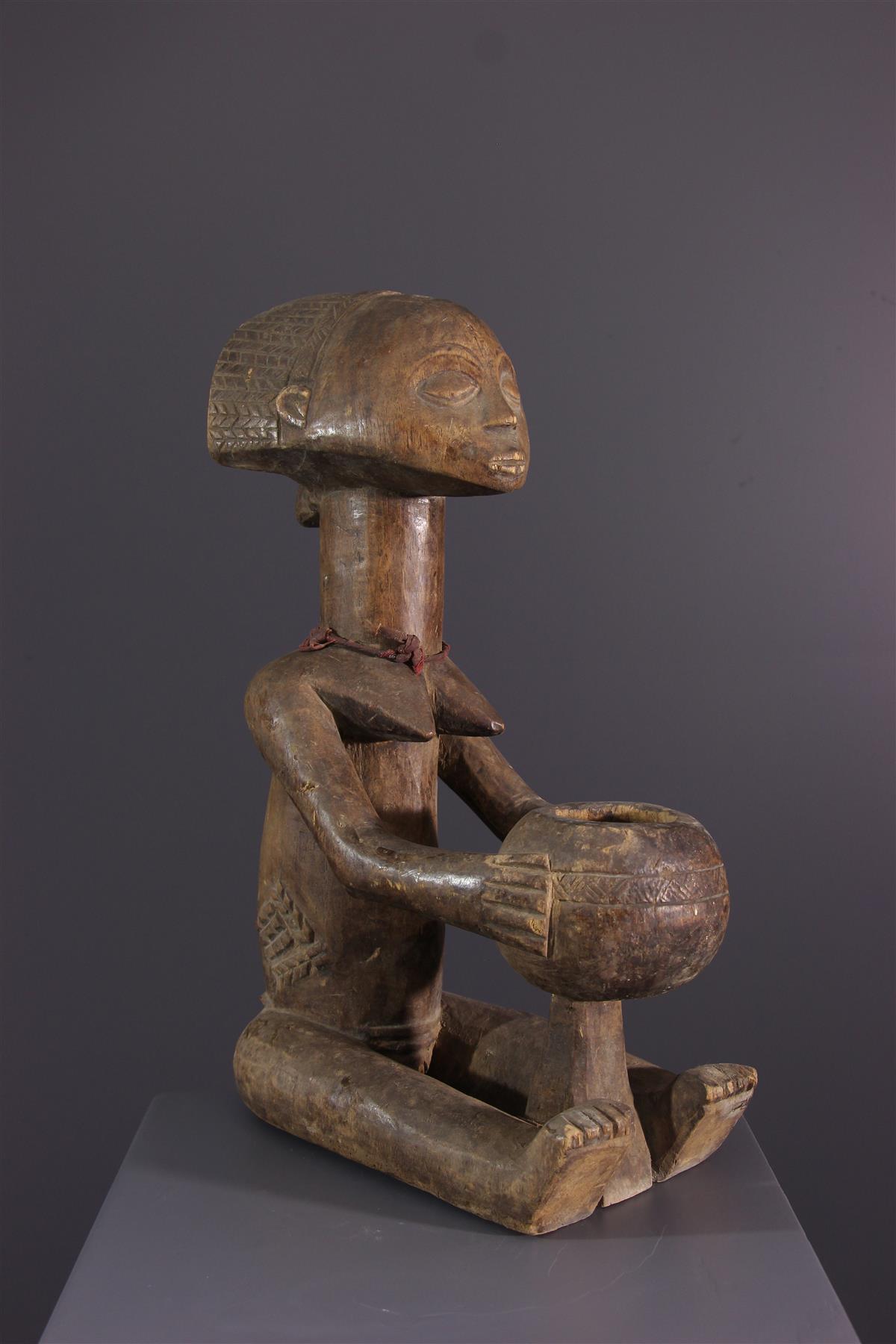 Beeld Luba - Afrikaanse kunst