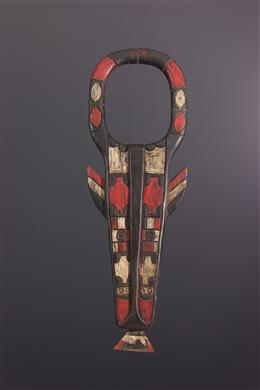 Douala Nyatti polychroom masker