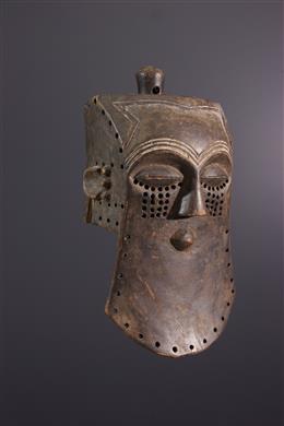 Afrikaanse kunst - Kuba Lele Helmmasker