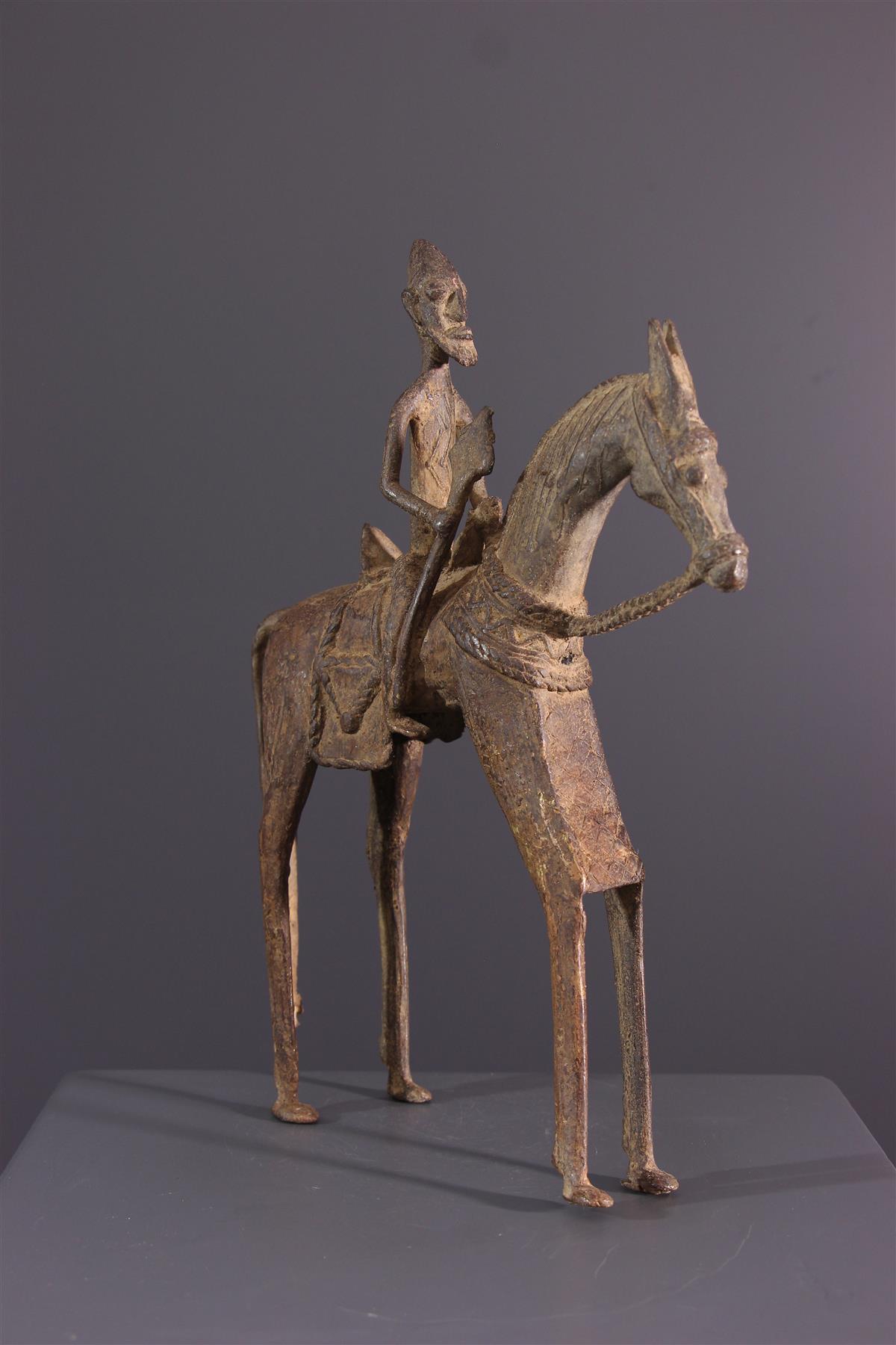 Bronzen Dogon - Afrikaanse kunst
