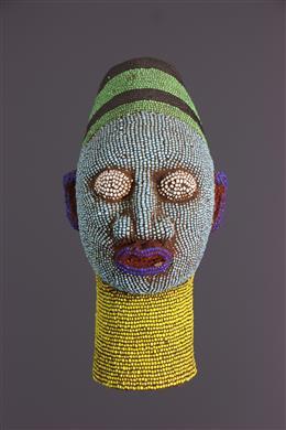 Het hoofd van de parel in terracotta