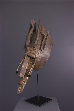 Afrikaanse kunst - Het masker van Markha van Ntomo
