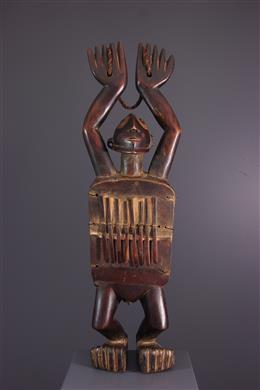 Lamellofoon figuratieve Zande