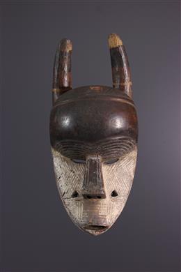 Afrikaanse kunst - Salampasu Dieren Masker