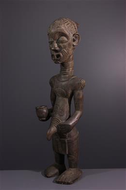 Afrikaanse kunst - Prestigieus figuur Bena Lulua
