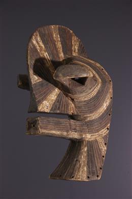 Afrikaanse kunst - Grote Songye Kifwebe Masker