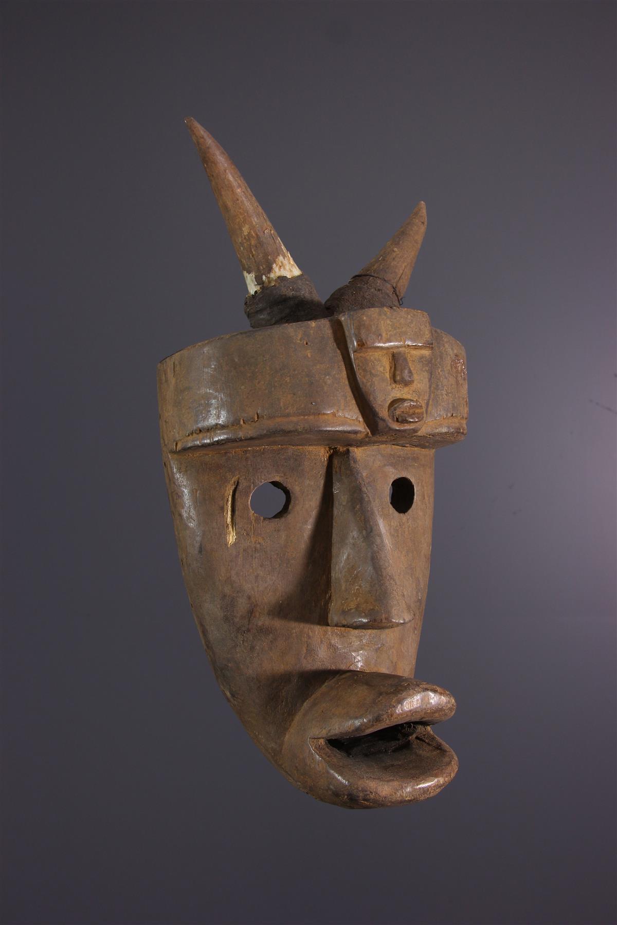 Toma masker - Afrikaanse kunst