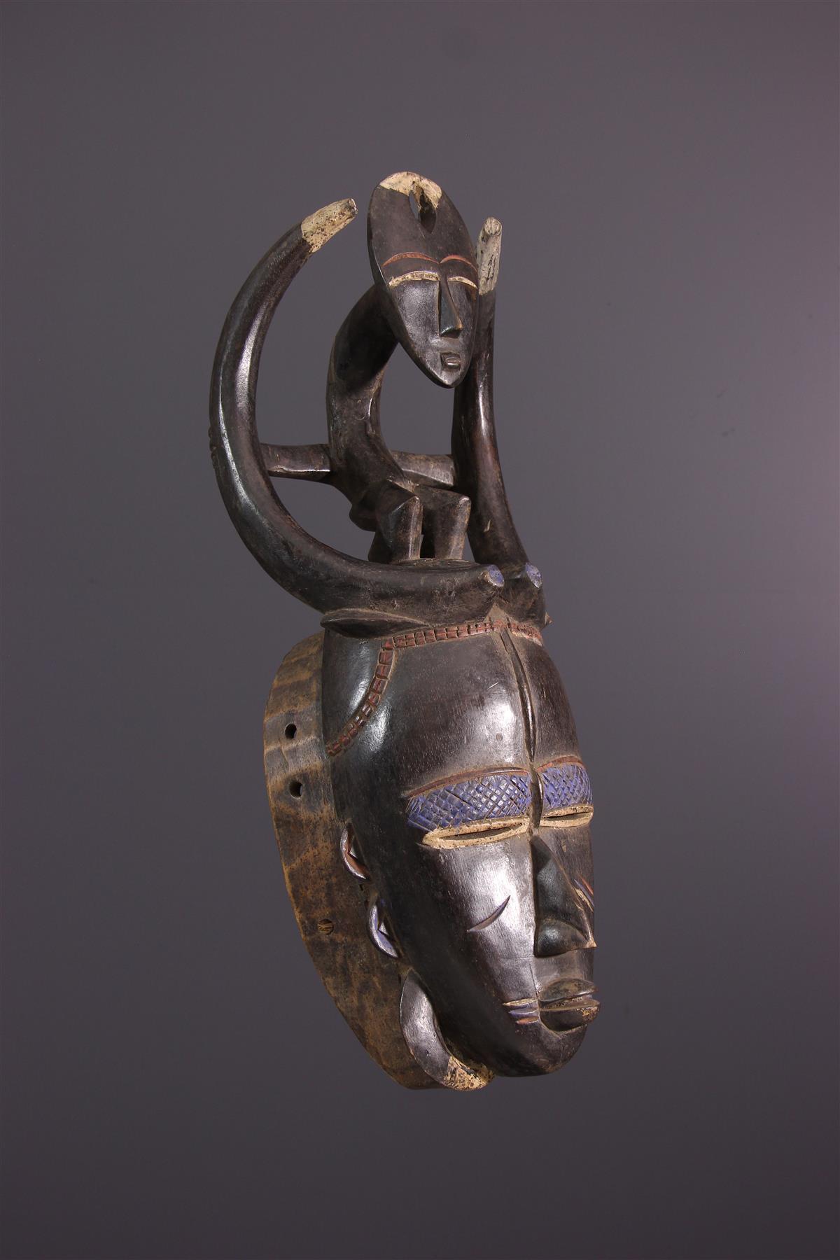 Ligbi masker - Afrikaanse kunst