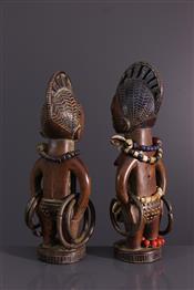 Statues africainesIbeji poppen
