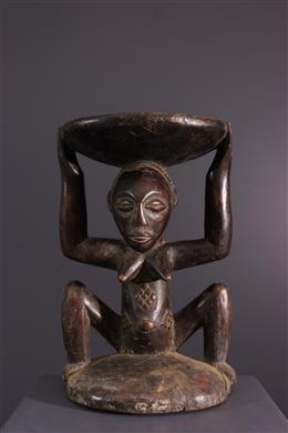 Afrikaanse kunst - Luba / Zula Kipona stoel