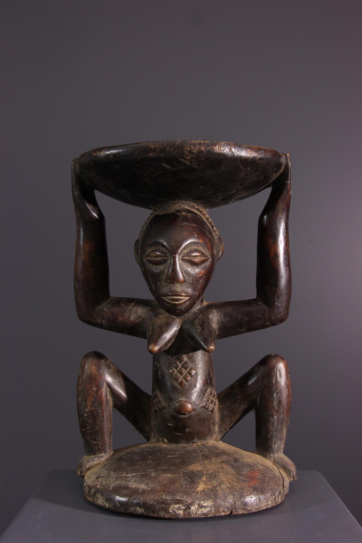 Luba stoel - Afrikaanse kunst