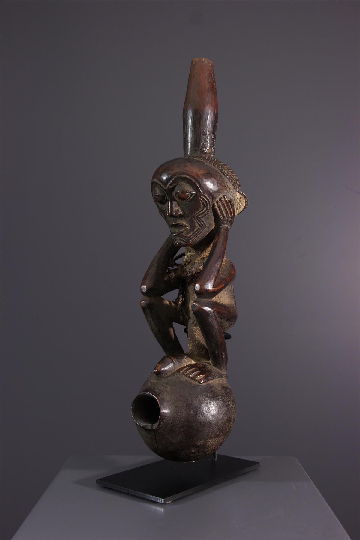 Lulua pijp  - Afrikaanse kunst