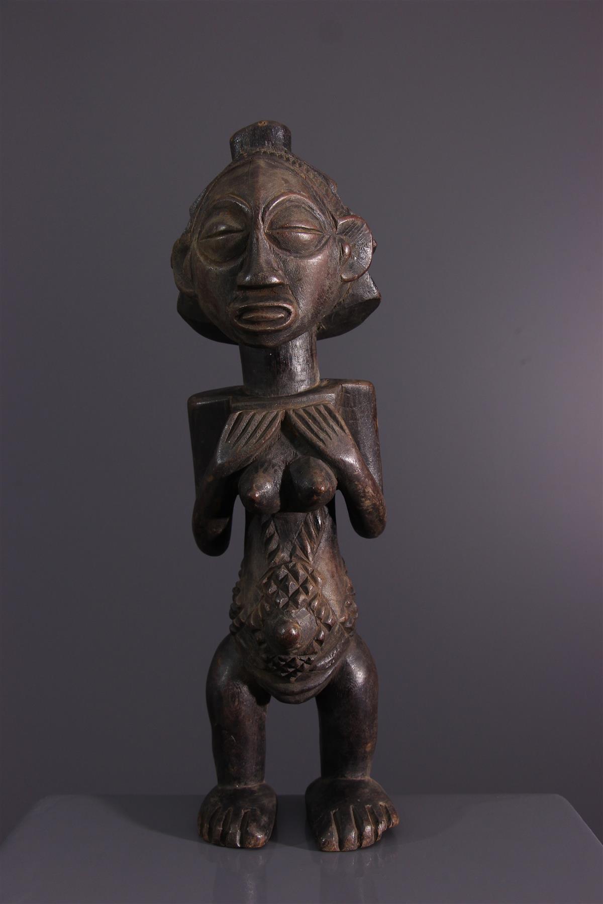 Beeldje Luba - Afrikaanse kunst