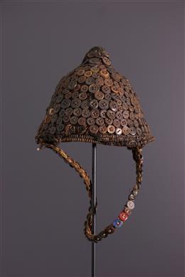 Afrikaanse kunst - Hoofddeksing Lega Mukaba