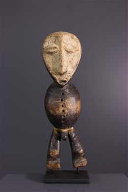 Afrikaanse kunst - Inleidend beeldje van Bwami Lega