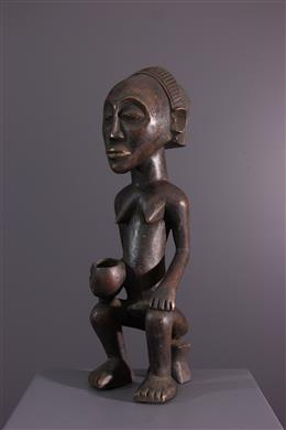Afrikaanse kunst - Beeldje Luba Mikisi