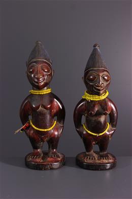 Paar d  Ere Ibeji Yoruba Igbomina