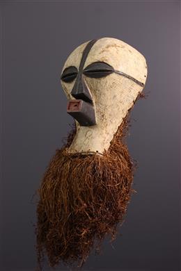 Afrikaanse kunst - Groot masker Songye Kifwebe Kikashi