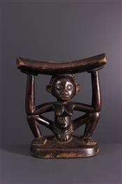 Statues africainesLuba hoofdsteun