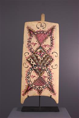 Afrikaanse kunst - Allo Koranische Plank