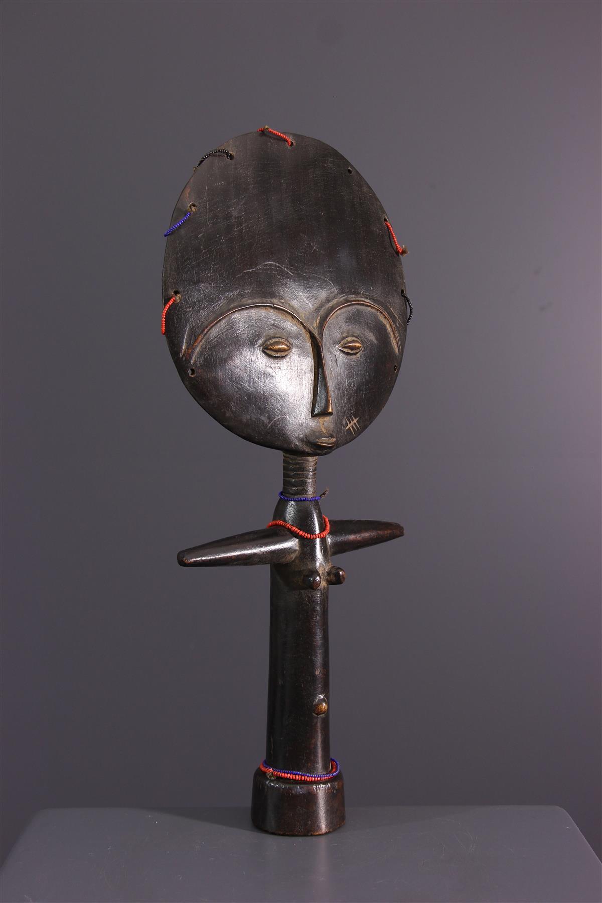 De pop van Ashanti - Afrikaanse kunst