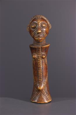 Afrikaanse kunst - Tabwa Mpundu fetisj pop