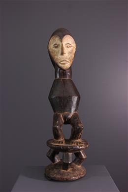 Afrikaanse kunst - Beeld janiforme Lega Iginga