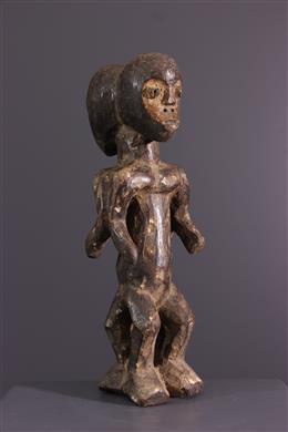Afrikaanse kunst - Lega initiatie figuur van Bwami