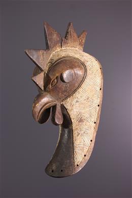 Afrikaanse kunst - Luba dierenmasker