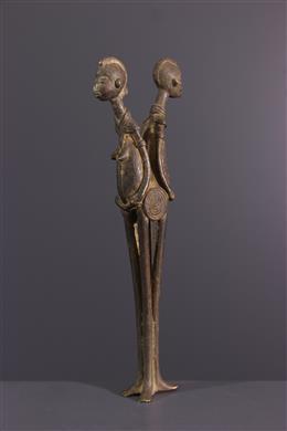 Afrikaanse kunst - Lobi bronzen beeld