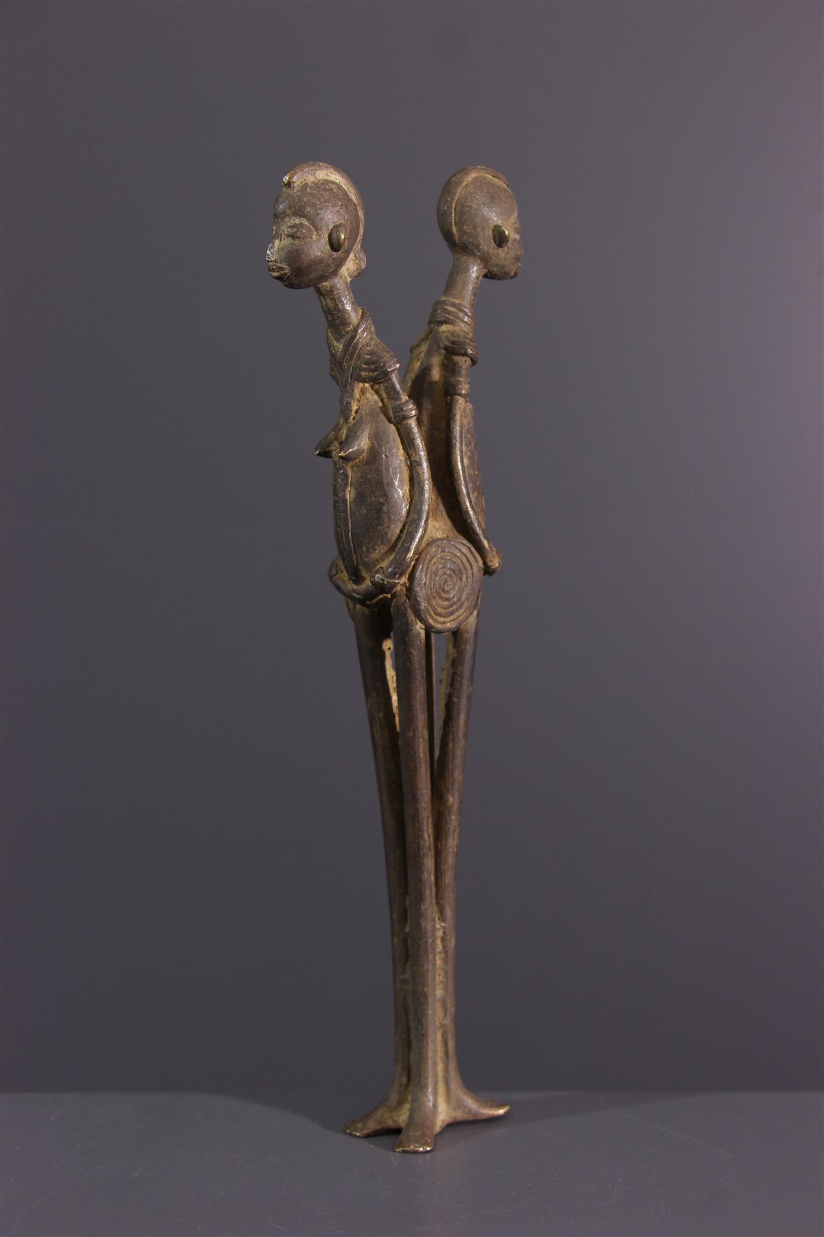 Lobi bronzen  - Afrikaanse kunst