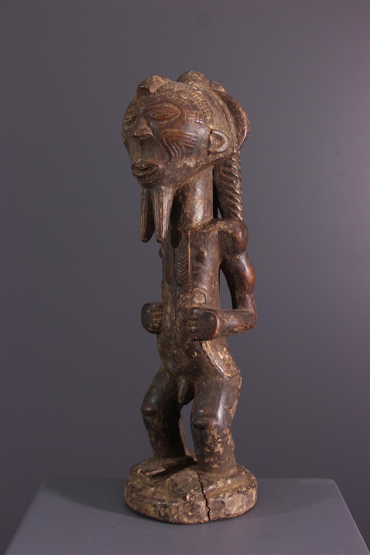 Standbeeld Lulua - Afrikaanse kunst