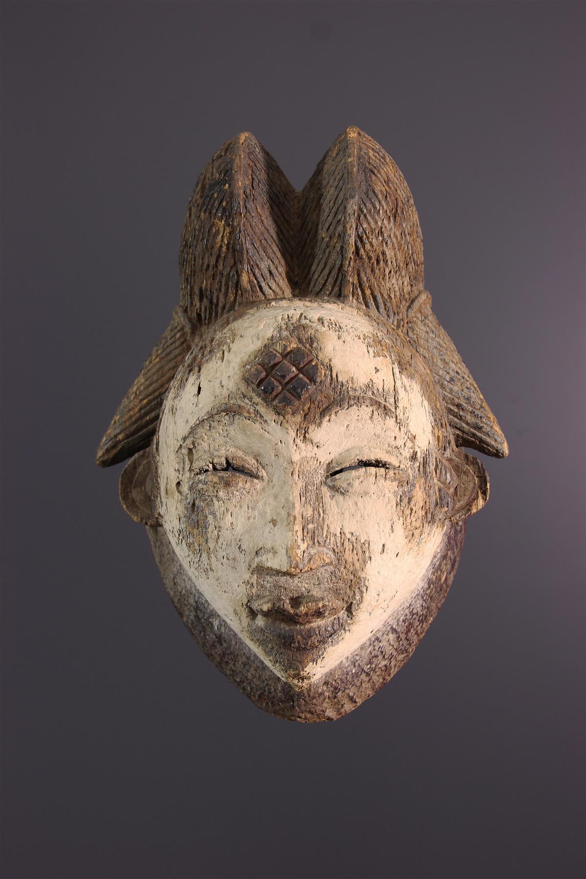 Punu Masker - Afrikaanse kunst