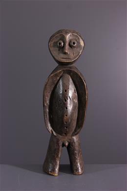 Afrikaanse kunst - Lega beeldje van de Bwami