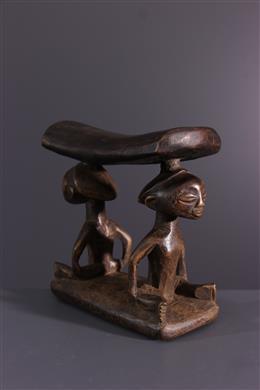 Afrikaanse kunst - Luba nek ondersteuning