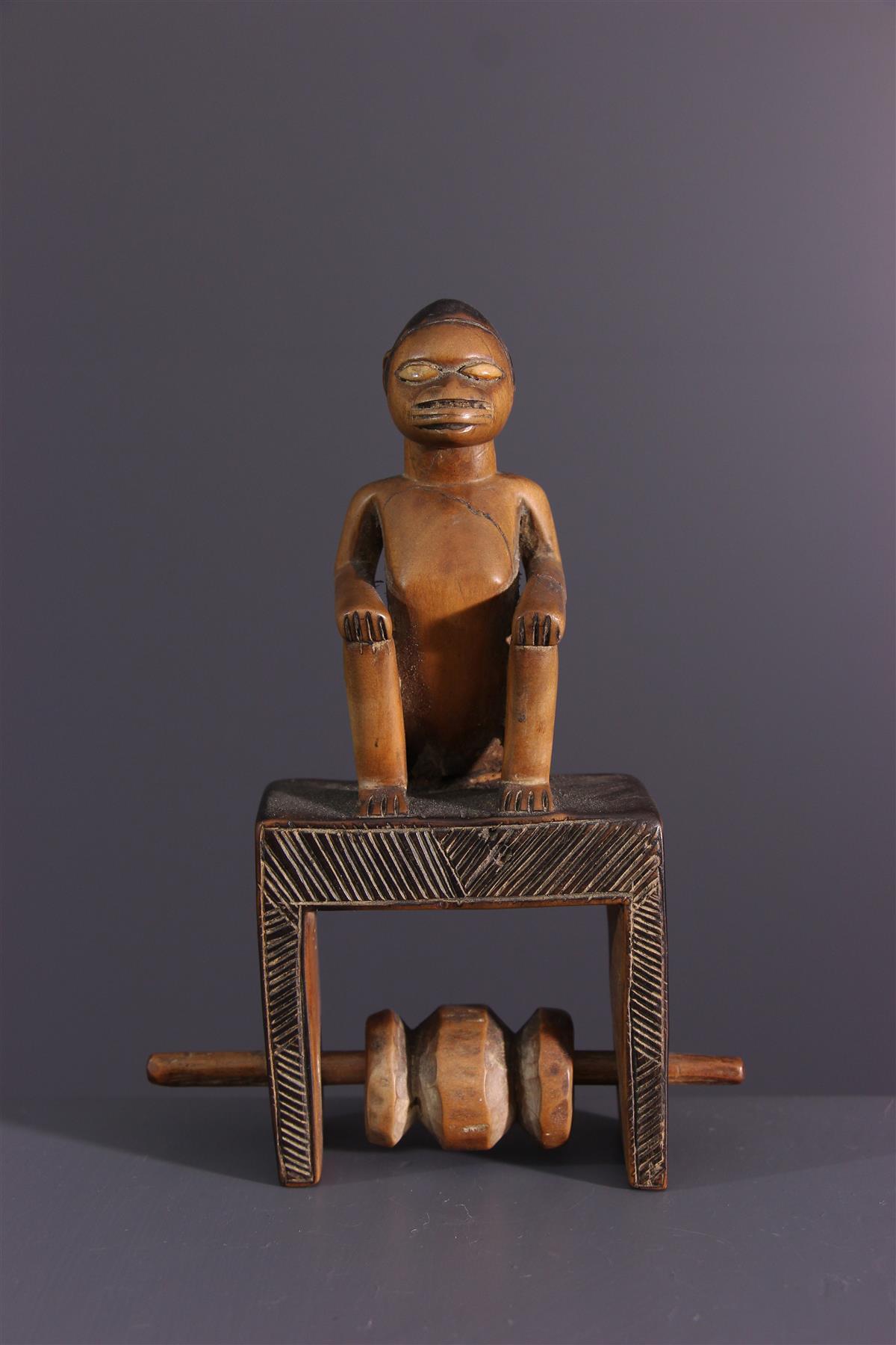 Beembé weefgetouw - Afrikaanse kunst
