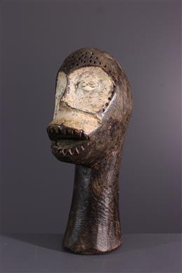 Zimba gebeeldhouwd hoofd