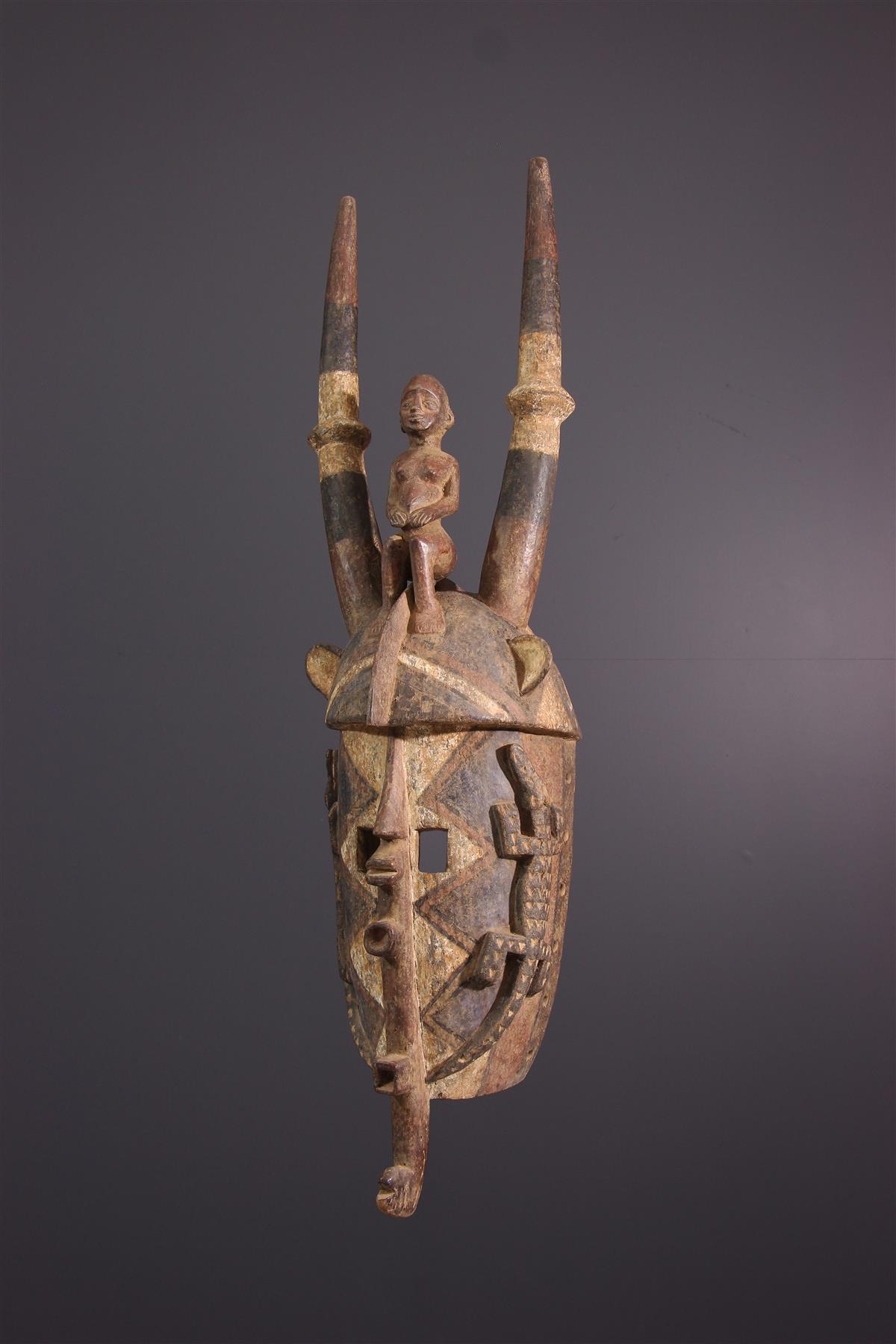 Mossi Masker - Afrikaanse kunst