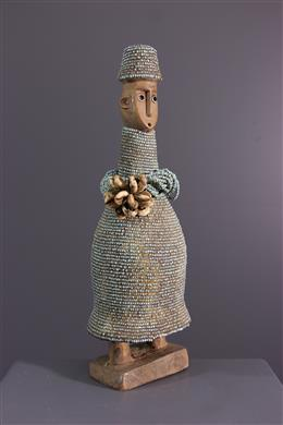 Afrikaanse kunst - Doll Namji, Namchi, Dowayo