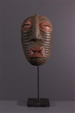 Afrikaanse kunst - Luba Kifwebe masker op plint