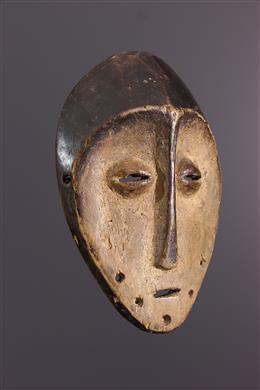 Afrikaanse kunst - Kleine Lega Lukwakongo masker