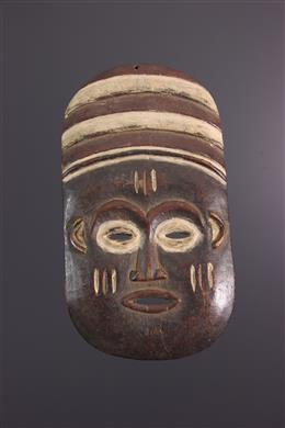 Afrikaanse kunst - Lele, Bashilele masker